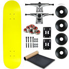 BLANK Skateboard NEON YELLOW Skateboards COMPLETE 775