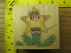 Rubber Stamp House Mouse Mice Star Stampabilities Stampinsisters 3833