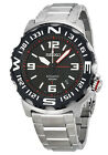 Seiko 5 Sports SRP445 Men's Superior Stainless Steel Black Dial Automatic Watch