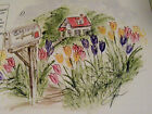 TULIPS U get photo 2  RETIRED LKexamples ART IMPRESSIONS RUBBER STAMPS
