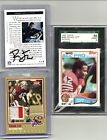 1982 TOPPS 486 RC SGC 8 ,92 PROLINE AUTO TWO COLOR JERSEY CARD 086 100 HOF RONNI