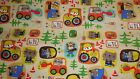 SNUGGLE FLANNEL LITTLE BUILDERS PATCH 1 YARD BTY