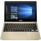 Asus Vivobook E200 116 Inch Atom 2GB 32GB Laptop Gold From Argos on ebay