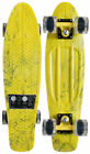 PENNY PLASTIC SKATEBOARD Complete Cruiser MARBLE YELLOW 22 Original