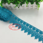 1 Yard Crochet Lace Trim Ribbon Wedding Applique Dress Sewing Decor Craft Fl57