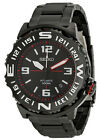 Seiko 5 Sports SRP447 Men's Superior Black Ion Plated Black Dial Automatic Watch