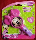 Disney Pink Minnie Mouse Whistle With Lanyard Musical Instrument BRAND NEW