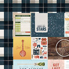 OUTFITTERS 12x12 Dbl Sided 1PC Scrapbooking Paper CAMPING