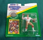 1991 JOE MONTANA San Francisco 49ers With Collector's Coin RARE Starting Lineup
