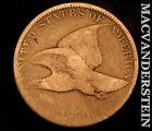 1858 FLYING EAGLE CENT SEMI KEY  BETTER DATE  R9536