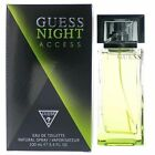 GUESS NIGHT ACCESS men 3.4 oz 3.3 edt cologne spray NEW IN BOX