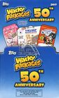 2017 Topps Wacky Packages 50th Anniversary 60ct Gravity Feed Box