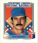 1988 Starting Lineup Mets #9 Keith Hernandez