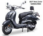 NEW Vintage BMS Heritage150cc Moped Gas Scooter Bike Retro Motorcycle FREE SHIP