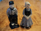 Vintage Dutch Salt and Pepper shakers Boy and girl Holland
