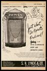 1947 Seeburg 147 1-47 jukebox photo doctor illustration vintage trade print ad