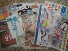 Lot of Scrapbooking Stickers and Die Cuts Summertime  Vacation 25 pcs