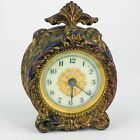 ANTIQUE WATERBURY CLOCK BRASS WITH WHITE FACE PAT1878 1890 1891