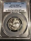 2017 D 25C Effigy Mounds NP America the Beautiful Quarter PCGS MS67