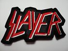 SLAYER red OLD logo EMBROIDERED PATCH