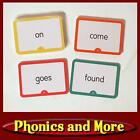 HOOKED ON PHONICS 1998 NOW Levels 1 5 Helper Word Flash Cards SEALED