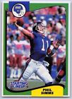 1994  PHIL SIMMS - Kenner Starting Lineup Card - NEW YORK GIANTS