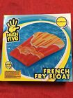 H2WHOA French Fries Swimming Pool Beach Inflatable 50X40 Float Summer Fun