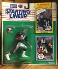1990 BO JACKSON Starting LineUp Figure 2 Cards Oakland LA Raiders Rookie SEALED!