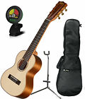 Kala KA GL KOA 6 String Hawaiian Koa Ukulele Guitar Bundle w Tuner Bag