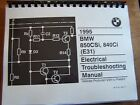 1995 Bmw 850 840 Owners Electrical troubleshooting Service Manual E 31  8 Series