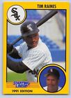 1991  TIM RAINES - Kenner Starting Lineup Card - CHICAGO WHITE SOX