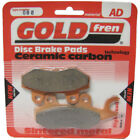 Front/Rear Disc Brake Pads for Kymco Dink 150 2001 151cc  By GOLDfren