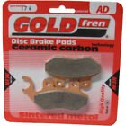 Front Disc Brake Pads for PGO Big Max 50 2008 49cc (front wave disc) By GOLDfren