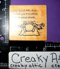 PLEASE EXUSE CHILD ABSENCE SEVERE CASE BEACH RUBBER STAMP REMARKABLE RETIRED