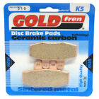 Front Disc Brake Pads for Honda CA125 Rebel 1999 125cc  By GOLDfren