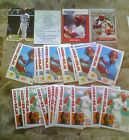 27CT 1984 O-PEE-CHEE OZZIE SMITH + FINEST + 2 RBI PROMO + STARTING LINEUP 1988