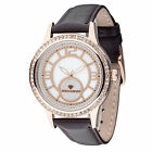 YVES CAMANI Rouen Womens Watch Rosegold Plated Dial Mother Of Pearl Leather New