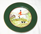 Fitz and Floyd Tallyho Fox Hunt Luncheon Plate 9 1/4 Inches No. 2
