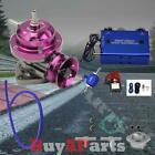 Purple Type-rs Blow Off Valve Bov Kit Wdual Stage Boost Controller 30psi Blue