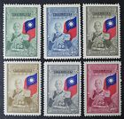 CKStamps China Stamps Collection Scott605 610 6 Mint H OG 5 Tiny Thin