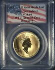 1998 Canada $50 Gold Maple Leaf 9-11-01 WTC Ground Zero Recovery PCGS Certified