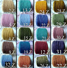 GREAT COLORS 6 2 Quality Soft Cotton Cone Yarn Knit Weave Crochet