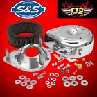 SS Cycles Teardrop Air Cleaner Kit for E and G Series Carburetor 17 0399