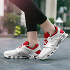 Mens Casual Outdoor Sports Athletic Sneakers Lace Up Anti Skid 3 Colors Trainers