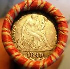 Wheat Cent ROLL w/ EF!! 1890 Seated Dime &