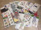 Scrapbooking Items Misc lot of Die Cuts Stickers Frame Ups Etc