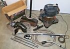 Vtg Rexair Rainbow Canister Vacuum Cleaner D4C w/ Power Nozzle & Attachments