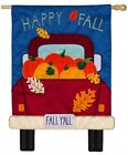 Fall Yall Pickup Truck House Applique Flag158699BL