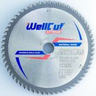 WELLCUT Saw Blade 165mm, Bore 20mm, 60 Teeth, 1.6mm Kerf for Festool Bosch etc.