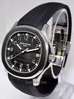 * Patek Philippe Jumbo Aquanaut 5167 Steel Rubber Mens Watch & Box 5167A